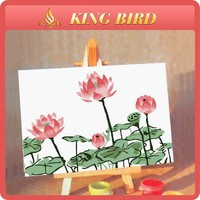 home decorations handmade craft diy number oil paintings