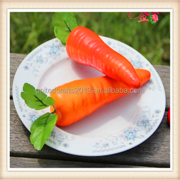 Decorative Vegetables Artificial Carrot for kitchen decor