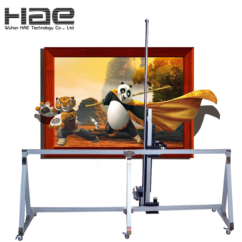 Multi function digital wall printing machine zeescape machine de peinture murale
