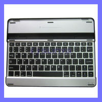 Aluminum Alloy Bluetooth Backlit Keyboard For iPad 2 3