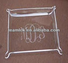 cafeteria acrylic serving tray