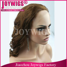 Wholesale popular top grade wholesale human hair fall wigs