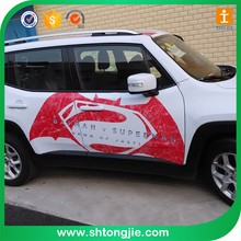 Custom pvc car window sticker custom made static cling decals stickers printed waterproof