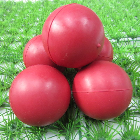 2014 hollow rubber bouncing balls