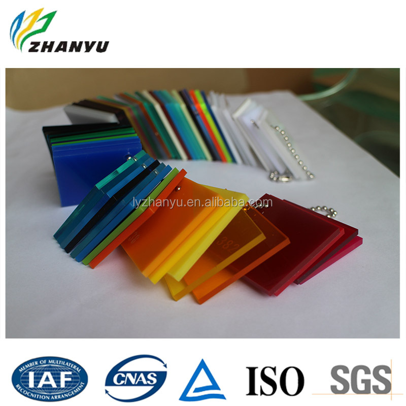Signage Material Back Lit Colored Plastic PMMA Acrylic Sheet for Led Light