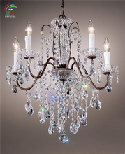 Ancient Egyptian decoration style luxurous top grade pendant lamp wrought crystal chandelier