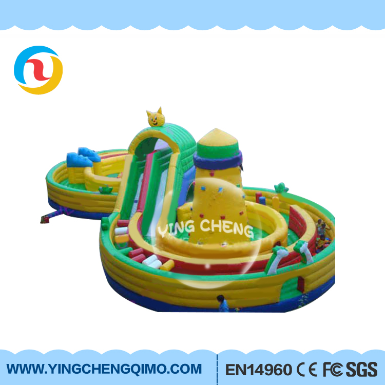 2017 hot sell chinese manufaturer inflatable kids obstacle course