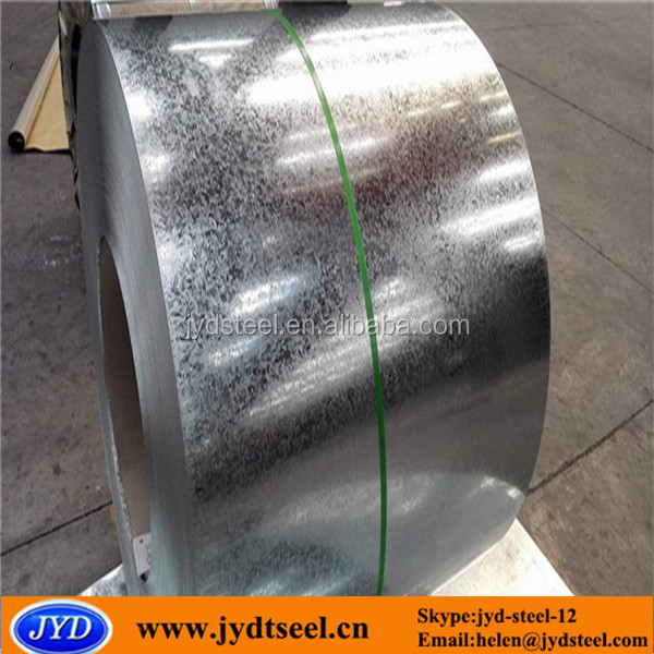 large spangle galvanized steel / zinc coated metal building material