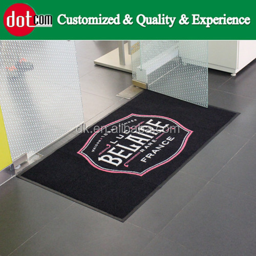 Hot Selling Toilet Environmentally Digital Printed Promotion Advertising Logo Floor Mat