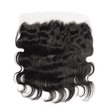 "4""13"" Indian Hair Body Wave Lace Closure"