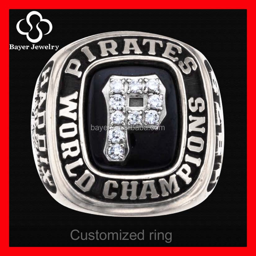 world series customized stainless steel championship ring