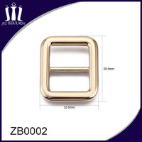 Roller strap metal buckle for coat belt