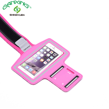 Free sample mobile phone Sport Armband Case with Key Holder
