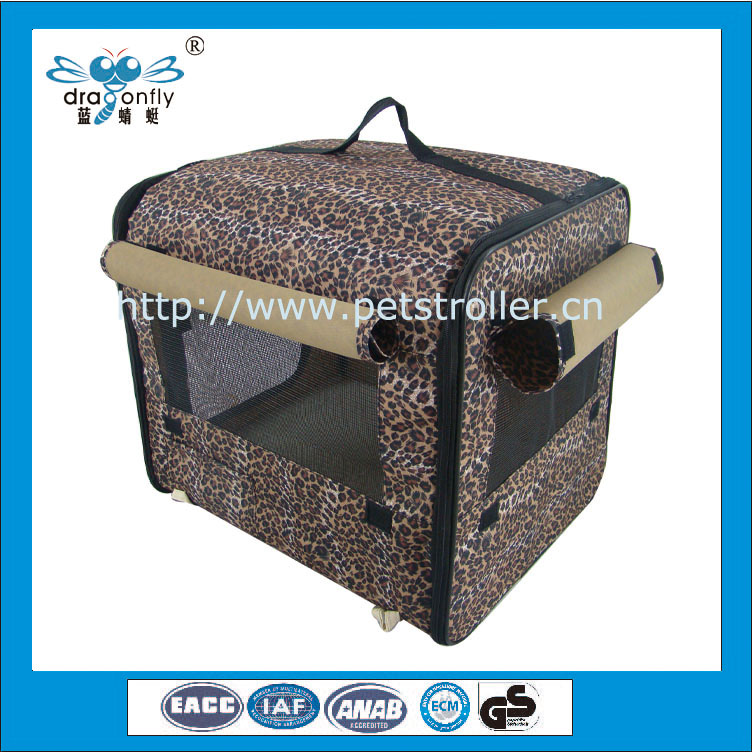 Multifunctional pet outdoor carrier dog basket pet bed portable cat house