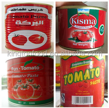 Canned tomato paste for imports, buyers and distributors
