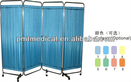 PMT-310 Stainless steel hospital folding screen