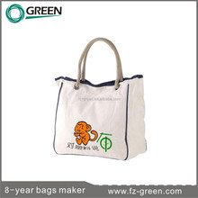 Fashion Style Organic Cotton Canvas Bag