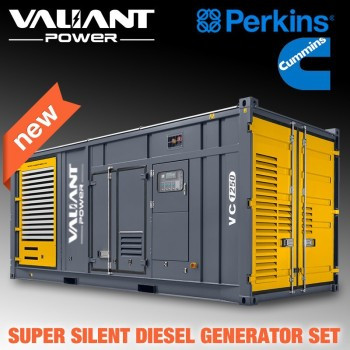 Great engine powered Global Warranty Diesel power generator 5mw