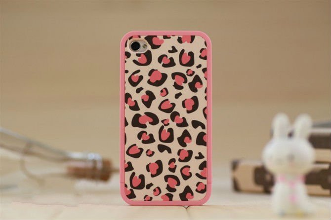 New leopard case, couple shell, new style cover for iphone 5, for iphone 4, for iphone 4S