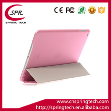 super slim auto sleep wake Magnet Smart case cover for ipad mini 1/2/3 leather case pink color Plastic protective