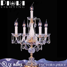 New Design crystal Candle Table Lamp Centerpieces For Wedding Decorative