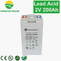 3years warranty 2v 200ah smf battery