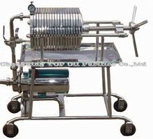Portable Coconut Oil Filtration Plant/Mini Colza Oil Filter Machine/Stainless Steel Filter Press