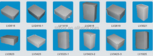 aluminum sheet metal fabrication box or case / aluminum box