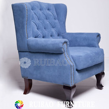 2016 New Style Armchair Home Furniture Simple Design Fabric Modern Sofa