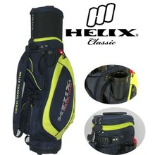2015 Helix nylon golf bag with golf tee holder /golf bag cover for protecting /nylon golf bags for sale