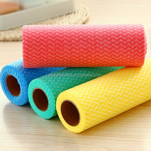 disposable nonwoven cleaning cloth roll