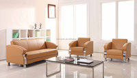 Chinese cheap price leather lounge sofa set