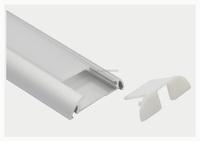 Various Length LED wall lighting Aluminium Extrusion Profile size 39.2*9mm aluminum T7061