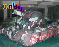 air ball bunker barge CE Inflatable paintball bunker