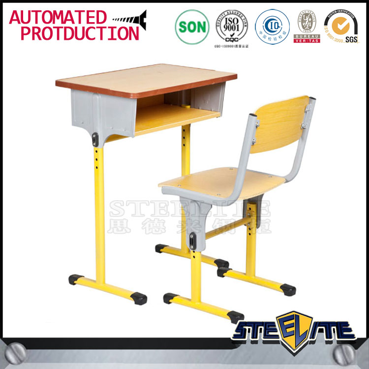 School Furniture Used High School Classroom Single Set Desk and Chair