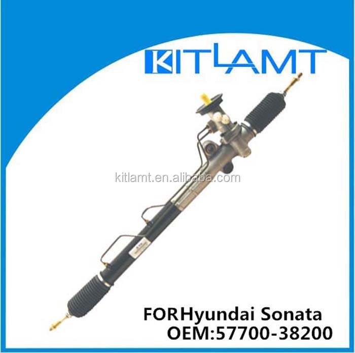 Power steering rack and pinion/hydraulic steering gear/ for Hyundai Sonata OEM:57700-38200/57700-3D000 LHD