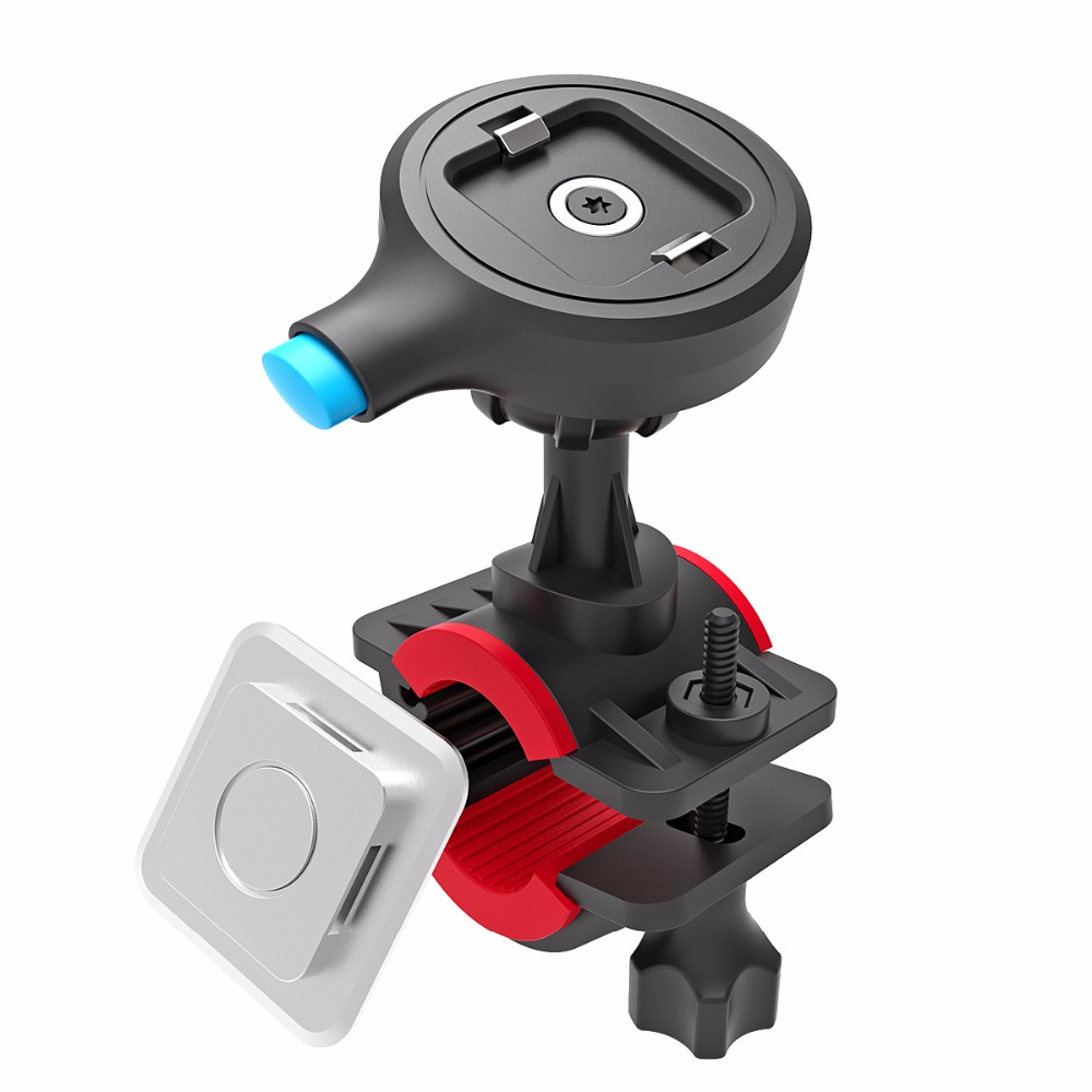 2017 Newest Patent Suit For 22-32 Handlebar Bicycle Quick Release Magnetic Bike Phone Holder Mount