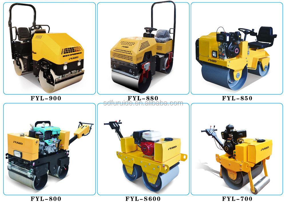New 800kg Vibration Road Roller For Sale (FYL-850S)