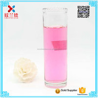 100ml cylinder clearglass candle jar/ holder / cup