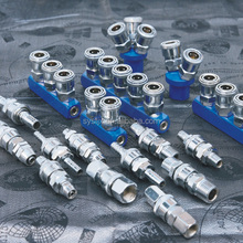 China supplier steel pneumatic quick coupler