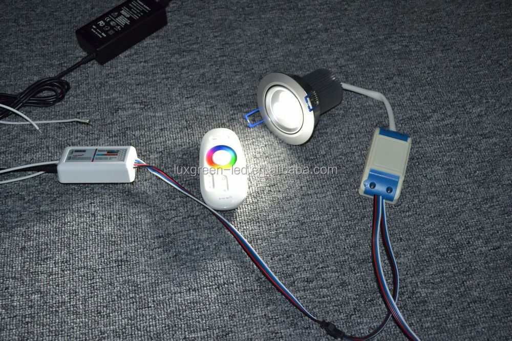Popular 3x8W 24VDC RGBW 4 in 1 DMX LED Downlight