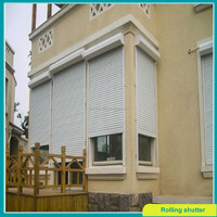 outdoor aluminium windows roller shutter