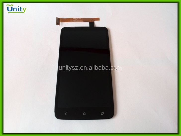 Mobile phone Lcd for htc one x touch screen digitizer