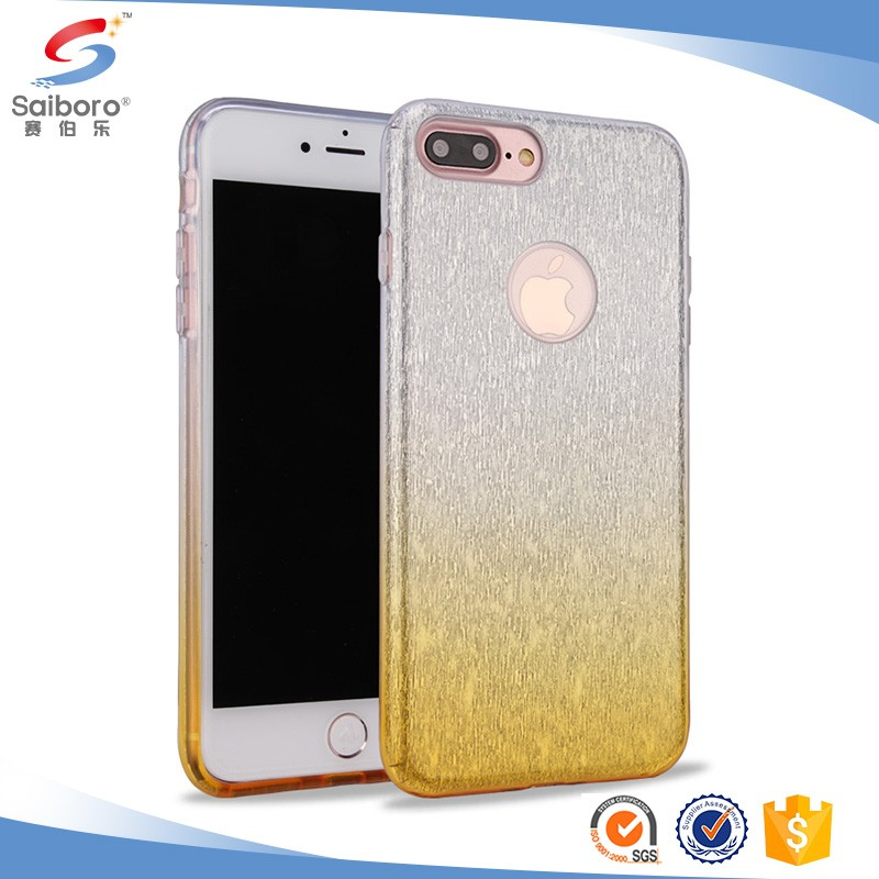 China manufacturer for iphone 7 gradient colors case