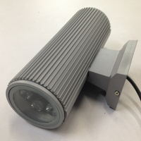 IP65 aluminum 12W led outdoor up and down wall light