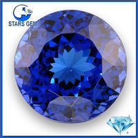Top Quality Lab Created Tanzanite Zirconia