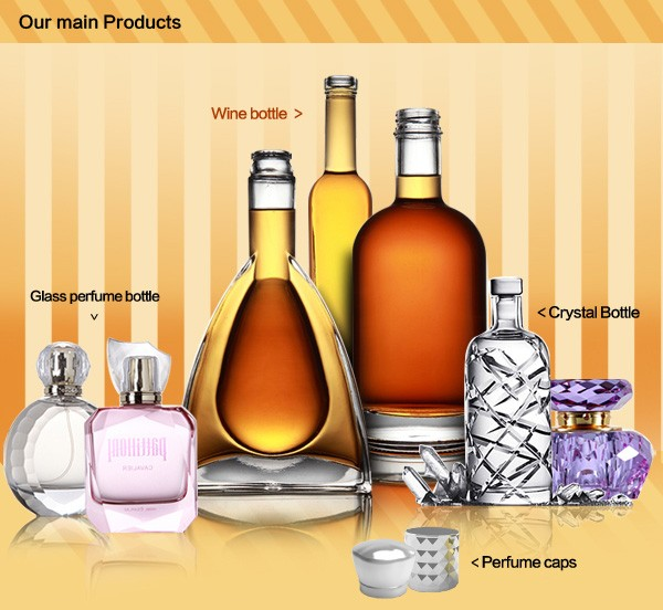 classic design high quality wholesale wine bottles