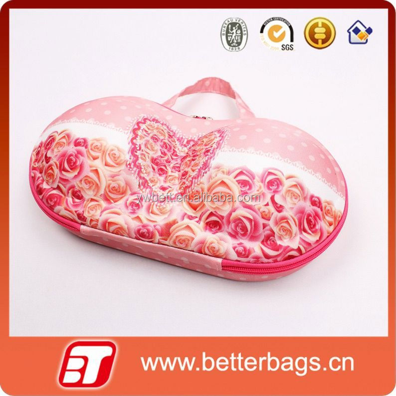 2015 woman storage box wholesale 2014 newest promotional eva bra panty bags
