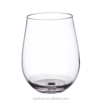 Multifunctional Acrylic Stemless Wine Glasses