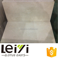 Hot sale Spanish beige color marble tile crema marfil